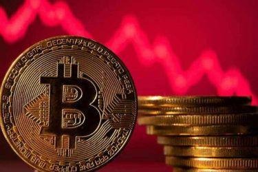 [Crash] Ny vidin'ny Cryptocurrency BTC (Bitcoin) dia latsaka ambany noho ny fanohanan'ny $ 33,000 Bitfinex(Bitfinex)Mitombo haingana ny toerana fohy