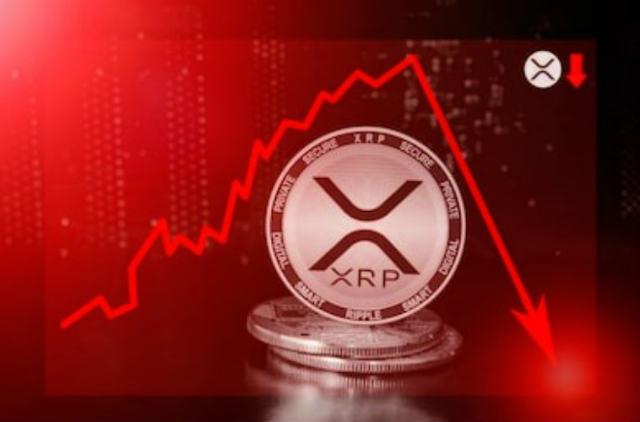 XRP(リップル)価格は取引所が上場廃止を開始したため24時間で24%下落