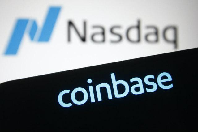 "Glavna burza virtualnih valuta ""Coinbase"" navedena na NASDAQ-u"