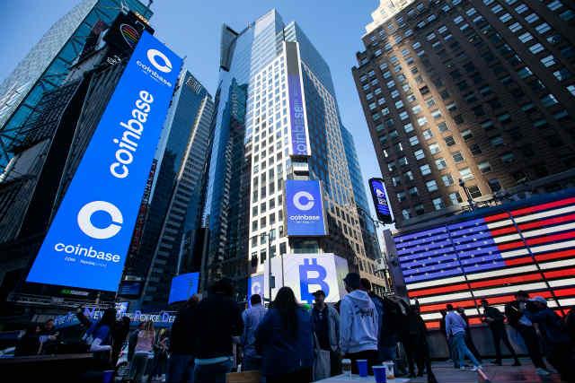 """""""Coinbase Global"""", najveća burza kripto imovine (virtualne valute) u Sjedinjenim Državama, je Američko udruženje trgovaca vrijednosnim papirima Nasdaq(NASDAQ)Navedeno dalje"""